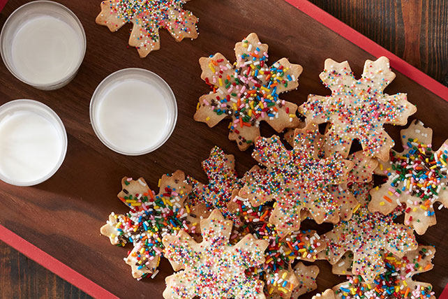 Snowflake Sugar Cookies Image 1