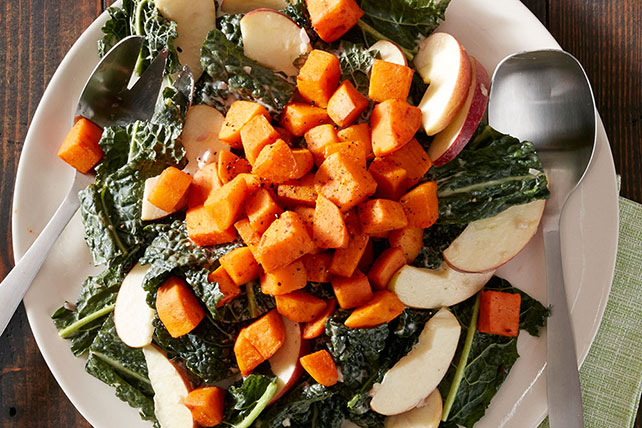 Sweet Potato and Kale Salad Image 1