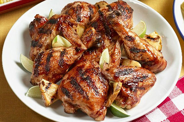 Barbecued Chicken and Pineapple Image 1