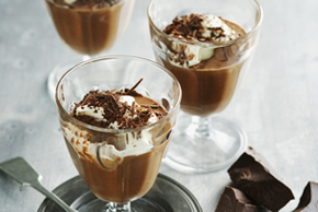 Chocolate-Cinnamon Pudding