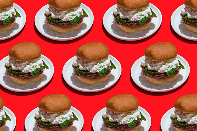 Tzatziki Lamb Burger Recipe