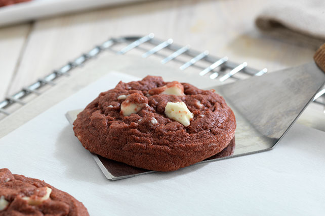 White Chocolate Red Velvet Cookies Image 1