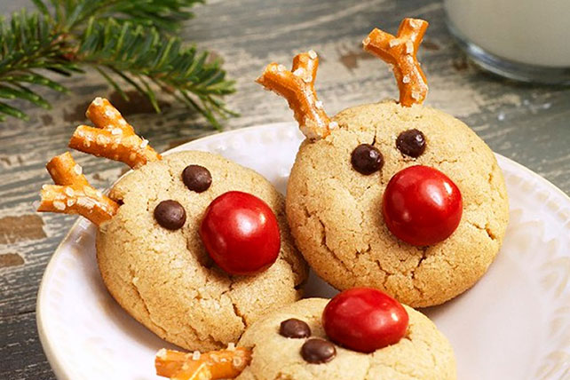 Peanut butter reindeer cookies kraft recipes peanut butter reindeer cookies forumfinder Choice Image