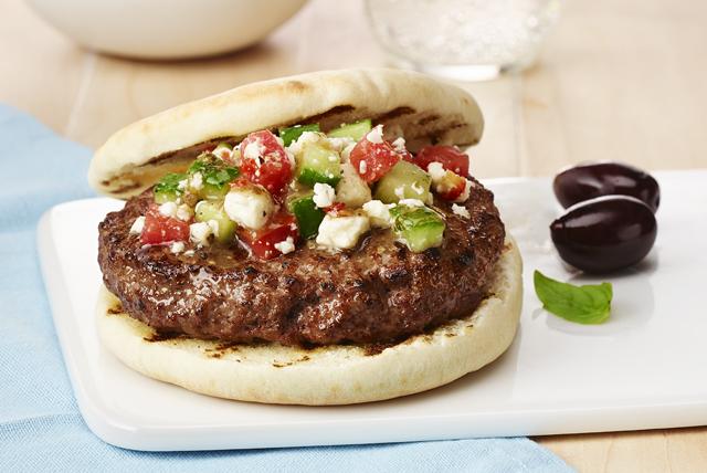 Burgers à la grecque Image 1
