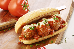 Meat Lover's Meatball Subs