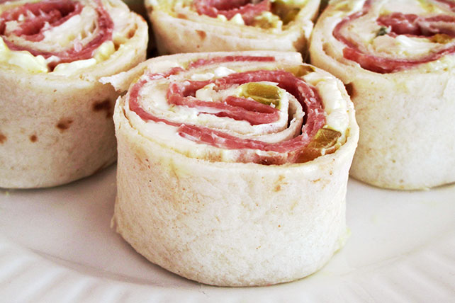 Easy Cream Cheese Roll-Ups Image 1
