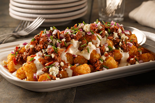 Blue Cheese Burger Totchos Image 1