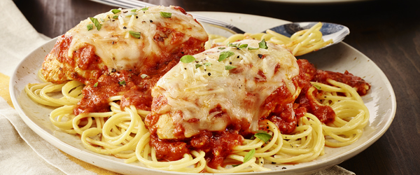 Spicy Tomato-Chicken Parmesan