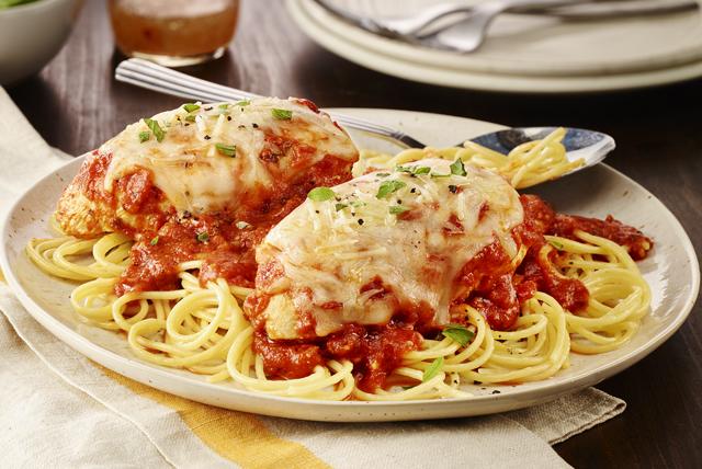 Poulet parmesan aux tomates épicées Image 1