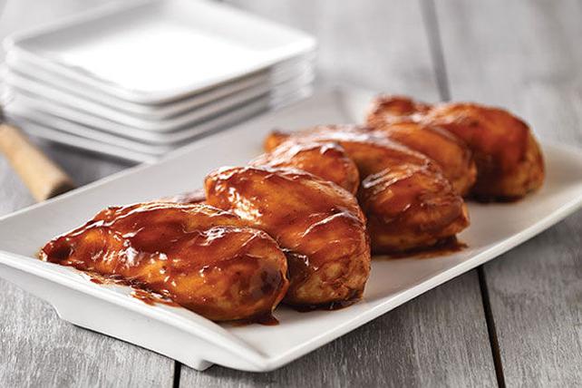 Poitrines de poulet barbecue au four Image 1