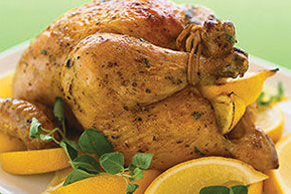 Lemon-Oregano Roast Chicken