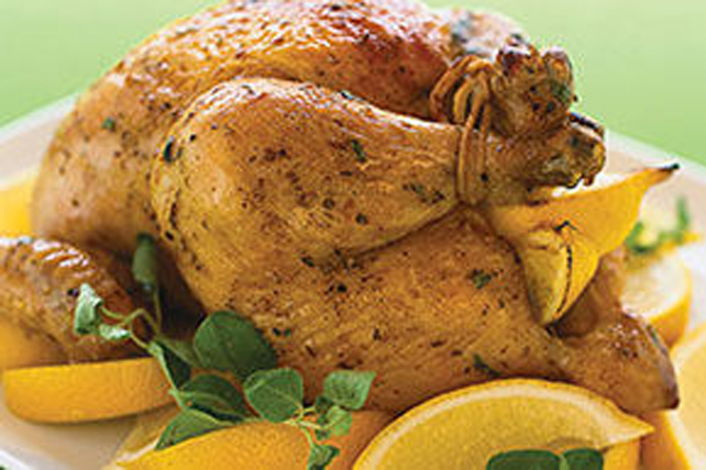 Lemon-Oregano Roast Chicken Image 1
