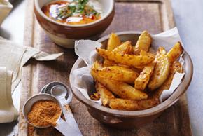 Pommes de terre rôties et épicées