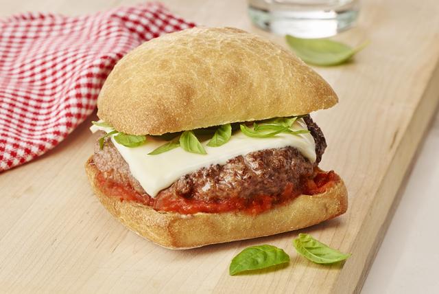 Hamburgers à l'italienne Image 1