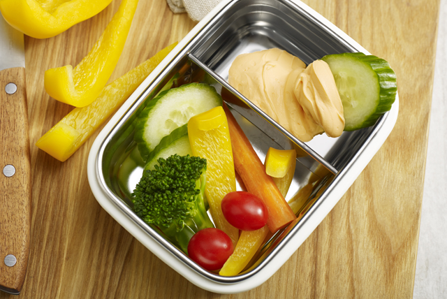 Veggies and Dip Bento Box Image 1