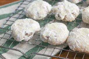 Pecan-Chocolate Shortbread Cookies