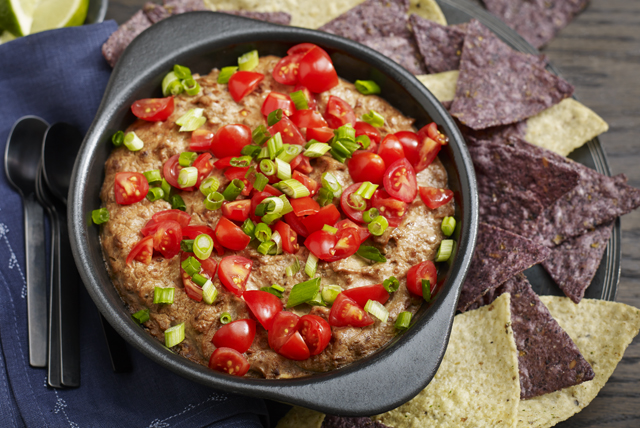 Cheesy Refried Bean Dip Image 1