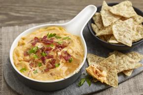 Creamy Cheddar-Bacon Dip