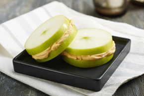 Apple Cheddar Stackers