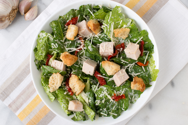 Turkey Caesar Salad Image 1