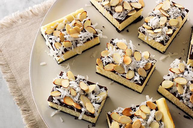 Barres de gâteau au fromage et à la noix de coco Image 1