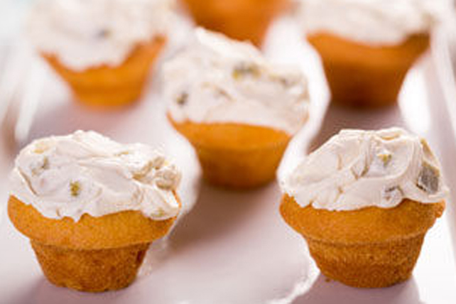 Mini Corn Muffins with Jalapeño Cream Cheese Image 1