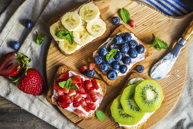 Collation aux fruits et au fromage à la crème Image 1