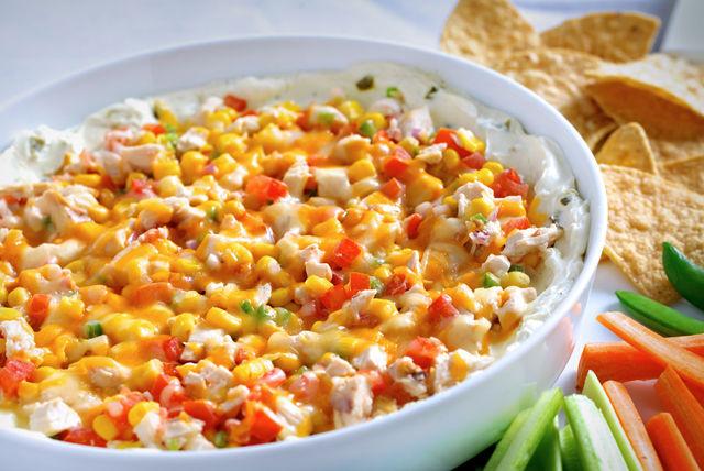 Southwestern Creamy Jalapeño-Chicken Dip Image 1