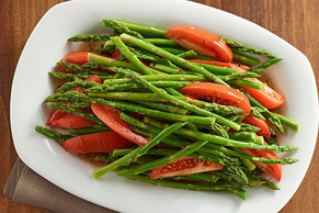 Asparagus and Tomatoes Italian