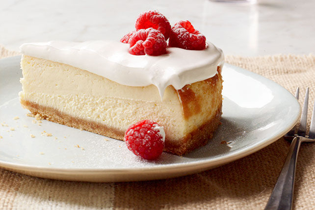 Gâteau-mousse au fromage PHILADELPHIA double vanille Image 1