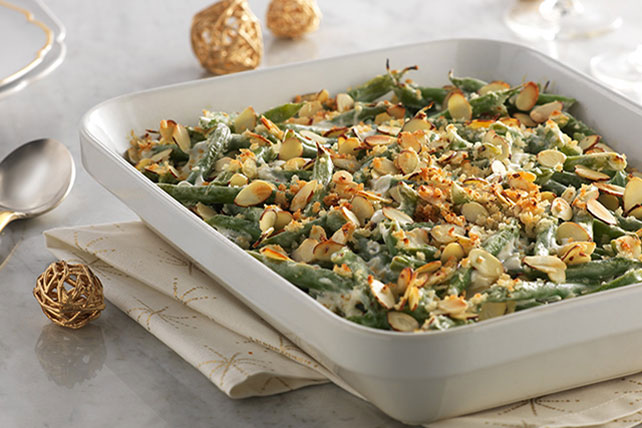 Fresh Green Bean Casserole Image 1