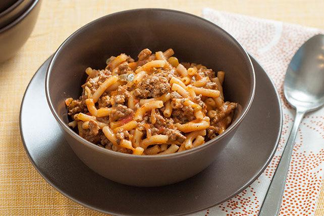 Macaroni au bœuf et à la salsa Image 1