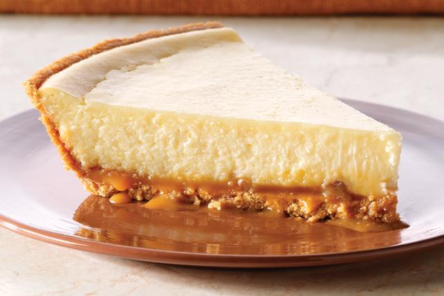 PHILADELPHIA 3-STEP Caramel-Pecan Cheesecake Image 1