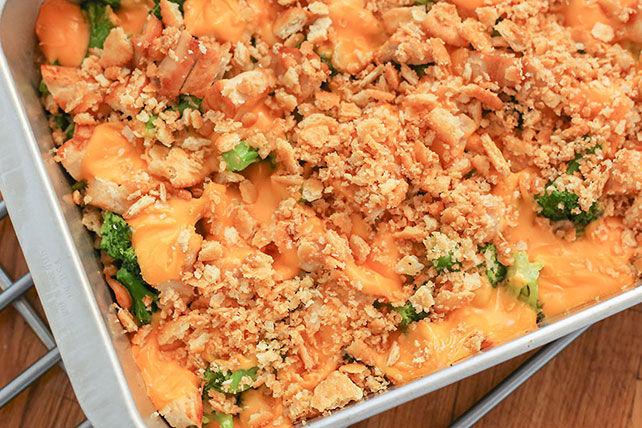 Casserole de poulet, de brocoli et de fromage Image 1