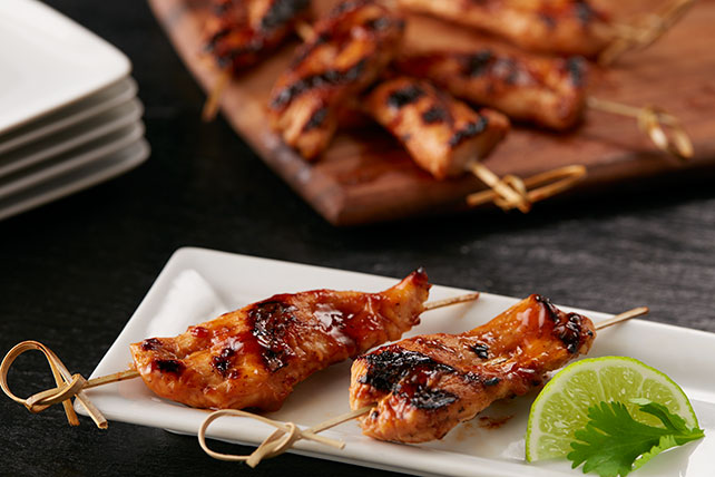 Sweet Chili-Chicken Satay Image 1