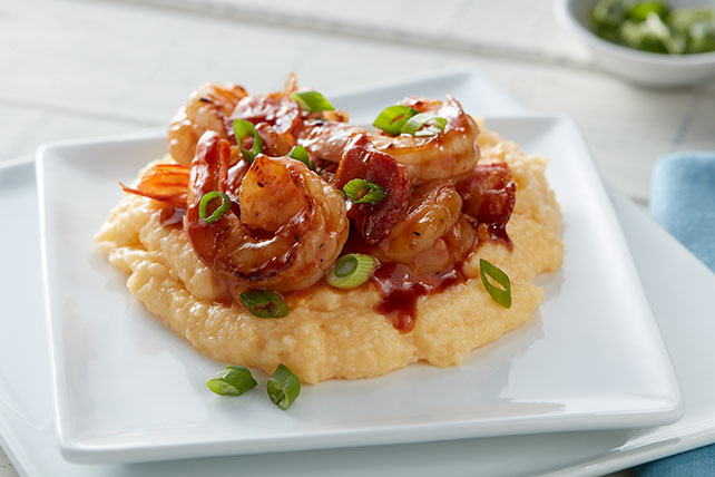 BBQ Shrimp and Grits Image 1
