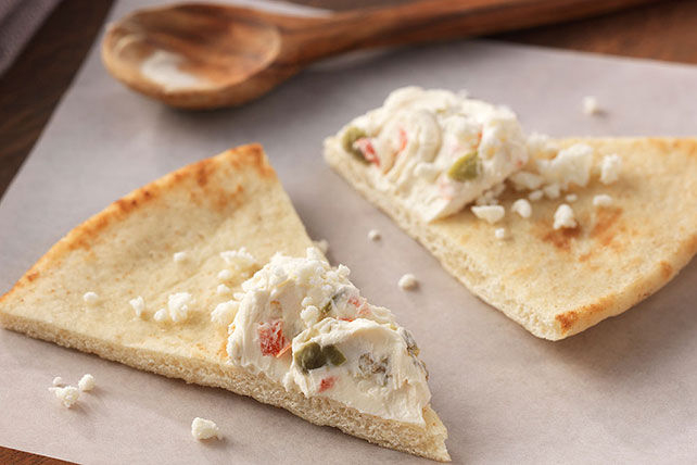 Cream Cheese and Feta Pita Triangles Image 1