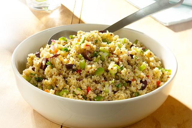 Quinoa Salad with Red Wine Vinaigrette Image 1