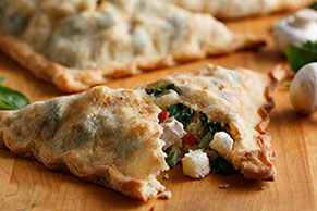 Chicken, Mushroom and Potato Pockets
