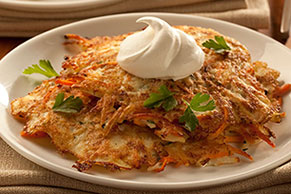 Garden Potato Pancake Recipe