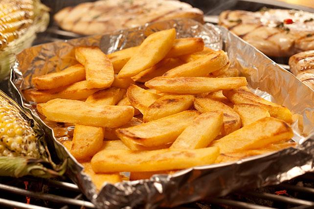 Grilled ORE-IDA Steak Fries