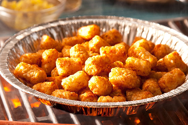 Grilled ORE-IDA TATER TOTS Image 1