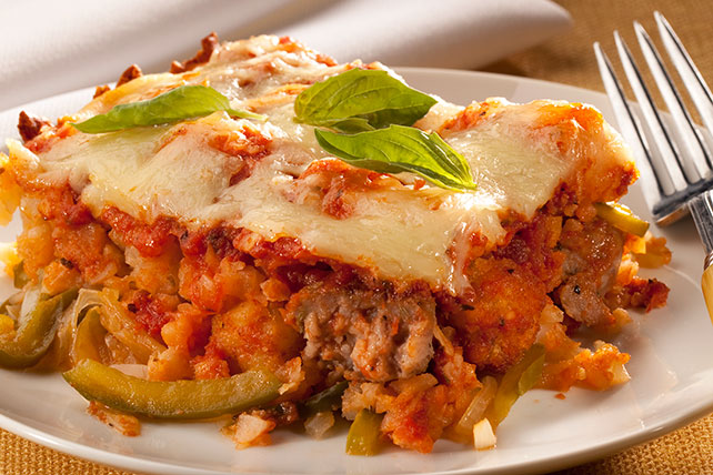 Italian Sausage & Potato Bake Image 1