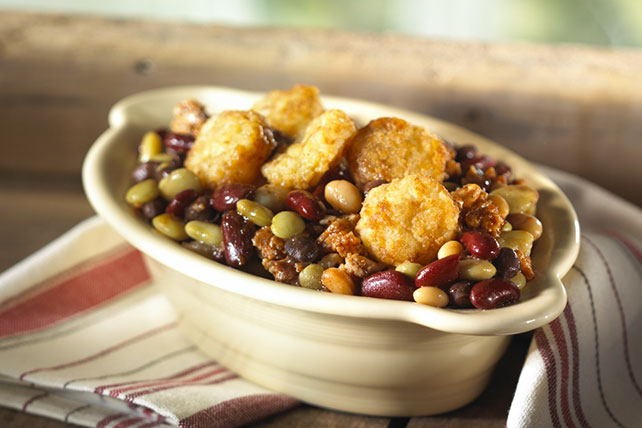 Turkey| Bean and TATER TOTS Casserole