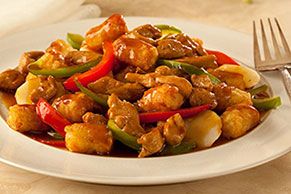 Asian Chicken & TATER TOTS Stir-Fry