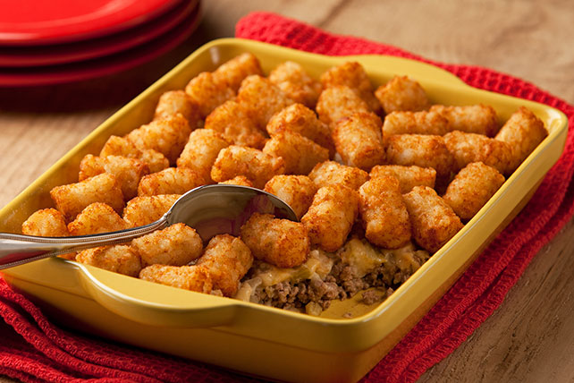 TATER TOTS Potato Topped Casserole