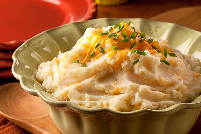 Three-Cheese Mashed Potatoes