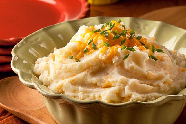 Three-Cheese Mashed Potatoes