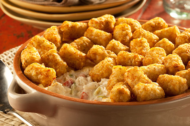 TATER TOTS Potato-Crab Melt Image 1