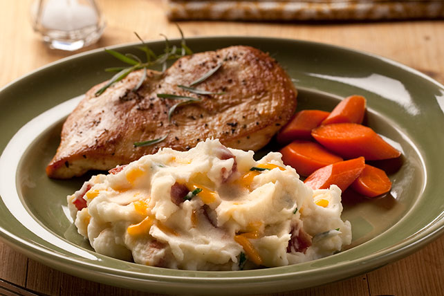 Bacon Cheddar Ranch Mashed Potatoes Image 1
